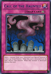 Call of the Haunted - Blue - DL12-EN018 - Rare - Promo Edition on Channel Fireball