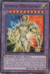 Elemental HERO Electrum - RYMP-EN017 - Common - 1st Edition
