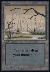Swamp (Brown and Foggy) on Channel Fireball