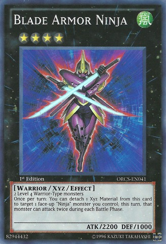 Blade Armor Ninja - ORCS-EN041 - Super Rare - Unlimited Edition