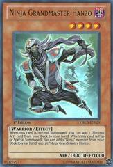 Ninja Grandmaster Hanzo - ORCS-EN029 - Ultra Rare - Unlimited Edition