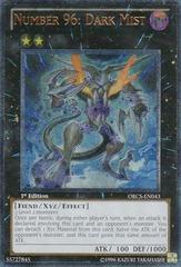 Number 96: Dark Mist - ORCS-EN043 - Ultimate Rare - Unlimited Edition
