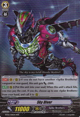 Sky Diver - BT02/001EN - RRR on Channel Fireball