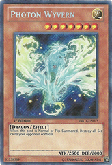 Photon Wyvern - PRC1-EN015 - Secret Rare - 1st Edition on Channel Fireball
