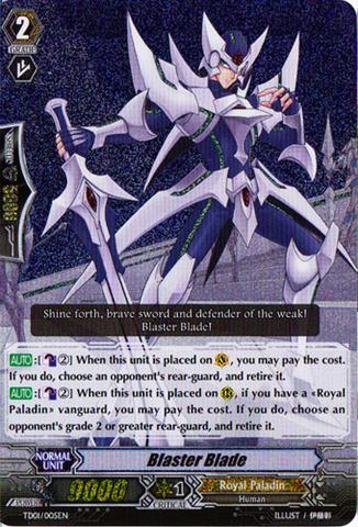 Blaster Blade - TD01/005EN