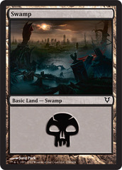 Swamp (238) - Foil on Ideal808