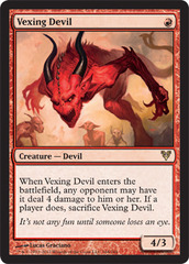 Vexing Devil on Channel Fireball