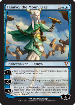 Tamiyo, the Moon Sage - Foil