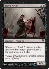 Blood Artist on Channel Fireball