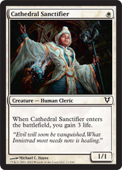 Cathedral Sanctifier - Foil on Channel Fireball