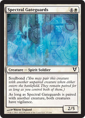 Spectral Gateguards - Foil on Ideal808