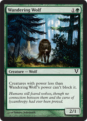 Wandering Wolf - Foil on Channel Fireball