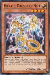 Hieratic Dragon of Nuit - GAOV-EN018 - Common - 1st Edition