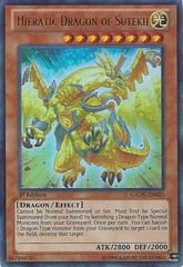 Hieratic Dragon of Sutekh - GAOV-EN025 - Ultra Rare - 1st Edition