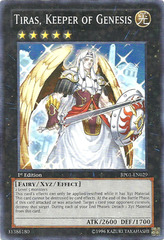 Tiras, Keeper of Genesis - BP01-EN029 - Starfoil Rare - 1st Edition