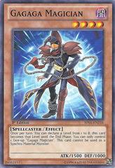 Gagaga Magician - BP01-EN218 - Starfoil Rare - 1st Edition on Channel Fireball