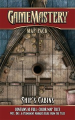 GameMastery Map Pack: Ship's Cabins