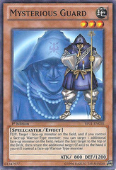 Mysterious Guard - BP01-EN058 - Starfoil Rare - 1st Edition