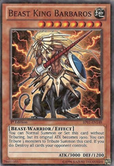 Beast King Barbaros - BP01-EN148 - Starfoil Rare - 1st Edition