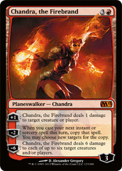 Chandra, the Firebrand - Foil on Channel Fireball