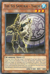The Six Samurai - Yaichi - SDWA-EN006 - Common - 1st Edition on Channel Fireball