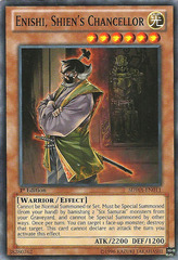 Enishi, Shien's Chancellor - SDWA-EN011 - Common - 1st Edition on Channel Fireball