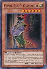Enishi, Shien's Chancellor - RYMP-EN097 - Common - Unlimited Edition