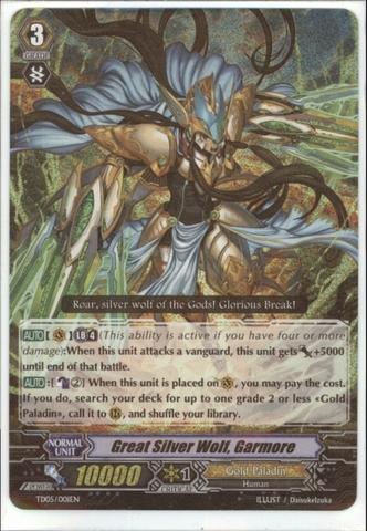 Great Silver Wolf, Garmore - TD05/001EN