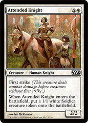 Attended Knight on Channel Fireball
