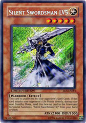 Silent Swordsman LV5 - EEN-ENSE4 - Secret Rare - Limited Edition
