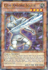 Gem-Knight Iolite - DT06-EN068 - Parallel Rare - Duel Terminal on Channel Fireball
