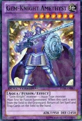 Gem-Knight Amethyst - DT06-EN083 - Super Parallel Rare - Duel Terminal on Channel Fireball