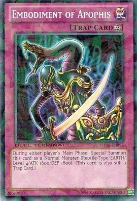 Embodiment of Apophis - DT06-EN097 - Parallel Rare - Duel Terminal