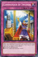 Commander of Swords - GAOV-EN068 - Common - Unlimited Edition