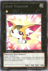 Baby Tiragon - PHSW-EN038 - Rare - Unlimited Edition on Channel Fireball