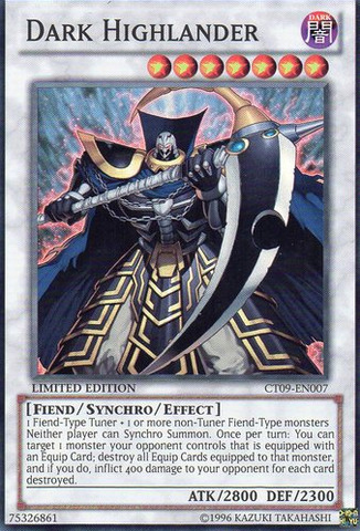 Dark Highlander - CT09-EN007 - Super Rare - Limited Edition