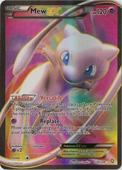 Mew-EX - 120/124 - Full Art Ultra Rare