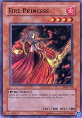 Fire Princess - LON-034 - Super Rare - 1st Edition