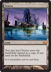 Vesuva - Foil on Channel Fireball