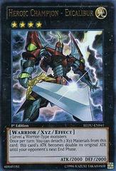 Heroic Champion - Excalibur - REDU-EN041 - Ultra Rare - 1st Edition