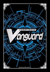 Cardfight! Vanguard Vol. 6 Blue Card Back Logo Sleeves (53ct)