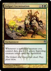Golgari Germination on Channel Fireball