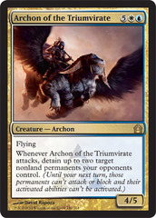 Archon of the Triumvirate - Foil on Channel Fireball
