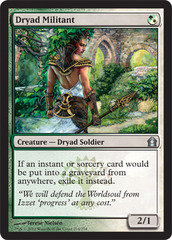 Dryad Militant on Channel Fireball
