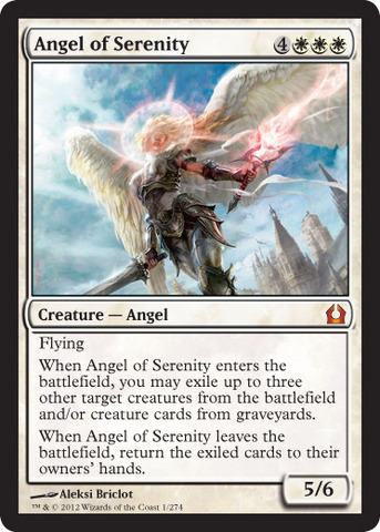 Angel of Serenity - Foil