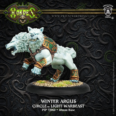 Circle Orboros: Winter Argus Light Warbeast