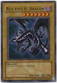 Red-Eyes B. Dragon - LOB-070 - Ultra Rare - 1st Edition
