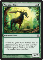 Axebane Stag - Foil on Channel Fireball