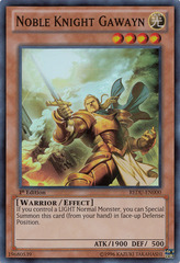 Noble Knight Gawayn - REDU-EN000 - Super Rare - Unlimited Edition