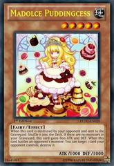 Madolche Puddingcess - REDU-EN026 - Ultra Rare - Unlimited Edition